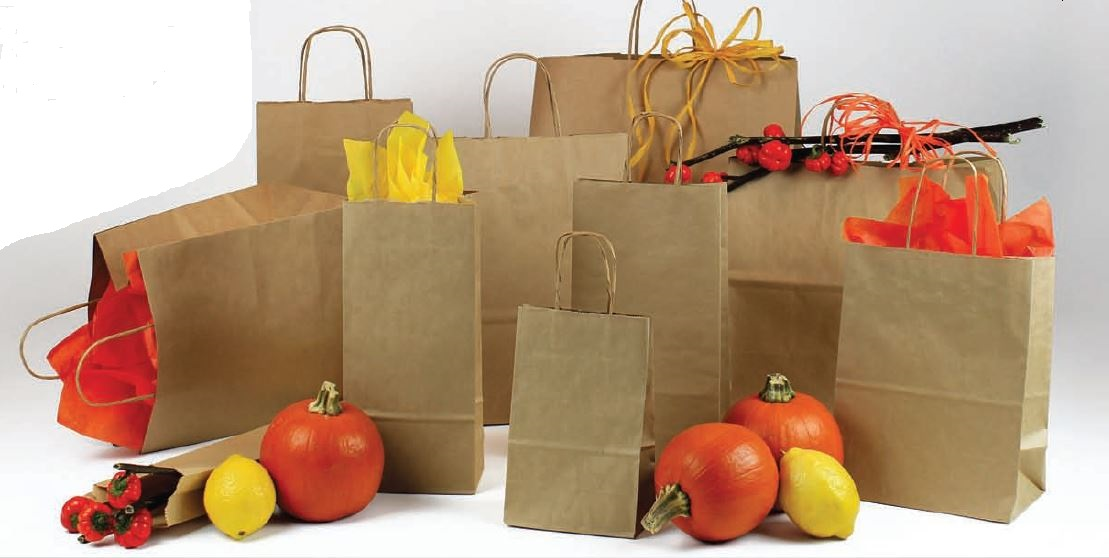 Benson Marketing Group Kraft Paper Bags Custom Shopping Bags