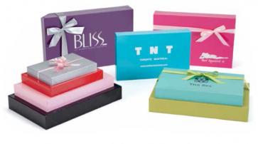 Metallic Color Apparel Boxes