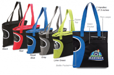 Zipper Bottle Tote