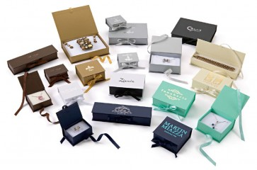 Deluxe Ribbon Jewelry Boxes