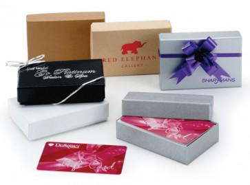 Gift Card Boxes - Small