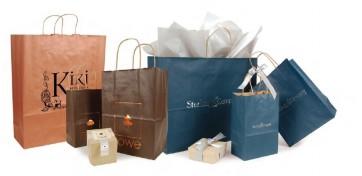 Matte Tint Shopping Bags