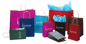 Natural Smooth Shopping Bags