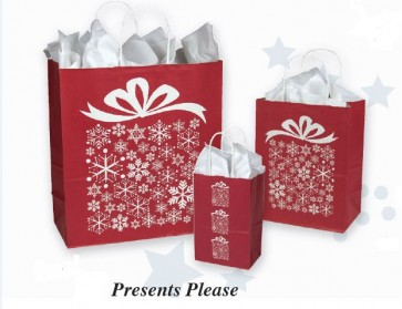Presents Please Shopping Bags