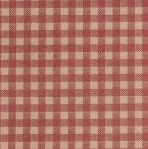 Burgundy Gingham Tissue