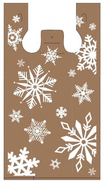 Snowflakes Plastic Bags
