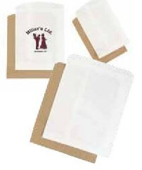 White Paper Merchandise Bags