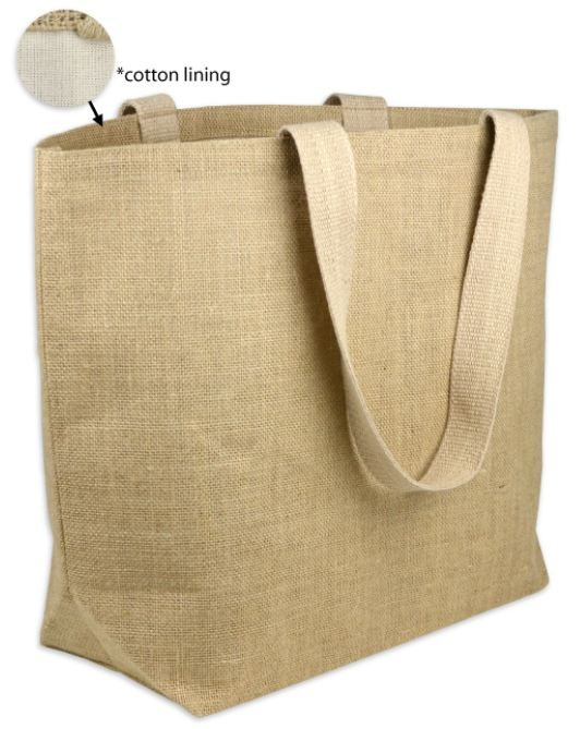 Burlap Beach Bags - Reusable Bags - Bags - Custom
