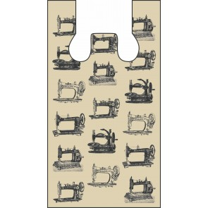 Beige Sewing Machines Plastic Bags