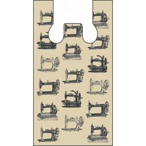 Beige Sewing Machines Plastic Bags