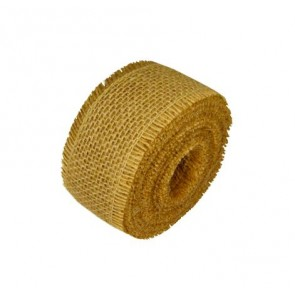 Burlap Ribbon - Rough Edge