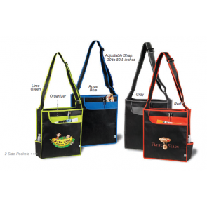Multi-Pocket Messenger Shoulder Totes
