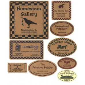 Custom Kraft Labels
