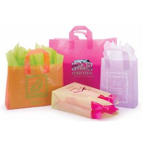 Frosted Color Shopping Bags