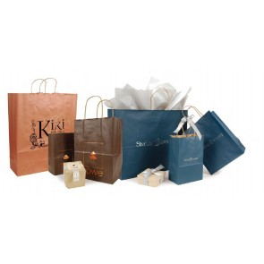 Matte Tint Shopping Bags