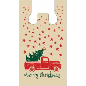 Merry Christmas Plastic Bags