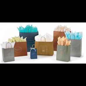 MetallicTints on Kraft Shopping Bags