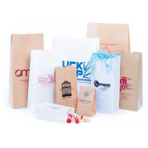 Plain Recycled Natural Kraft S.O.S. Bags