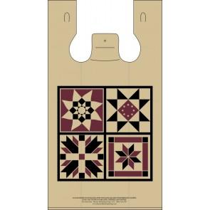 Quilt Blocks Plastic Bags
