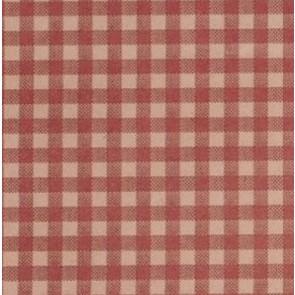 Burgundy Gingham Tissue