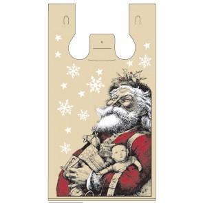 Santa Plastic Bags