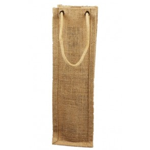 Single Bottle Jute Wine Bags