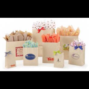 Oatmeal Sandkraft Shopping Bags