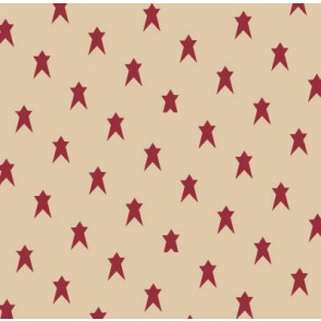 Burgundy Star Tissue