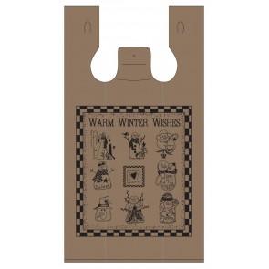 Winter Wishes Plastic Bag